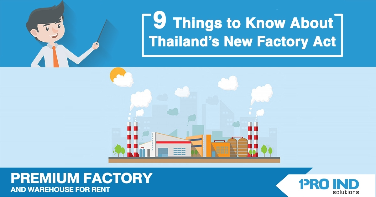 9 Things to Know About Thailand's New Factory Act