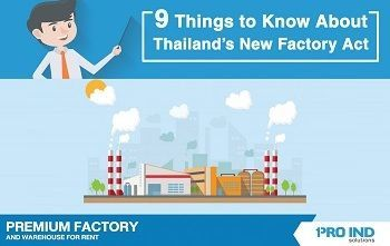 9 Things to Know About Thailand New Factory Act
