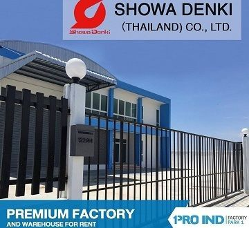 Pro Ind Factory for Rent Thailand Client