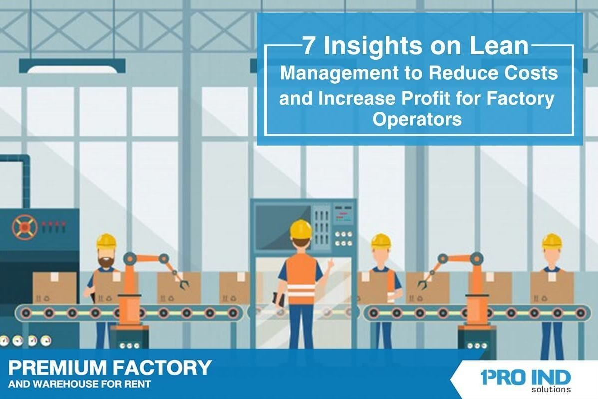 The lean system (LEAN) is an ideal practice for factory operations. It helps decrease avoidable losses and replace waste to value.
