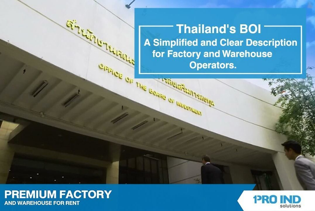 There are many advantages to obtaining BOI to support your business. Here, we explain the benefits of BOI in a simplified and easy-to-understand description specifically for factory and warehouse busi