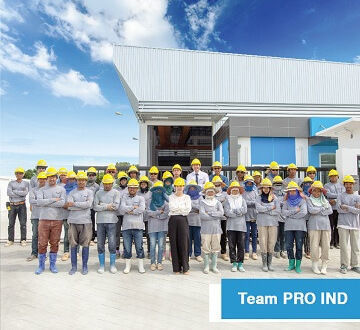 Pro Ind Factory for Rent in Thailand size 1030 sqm.