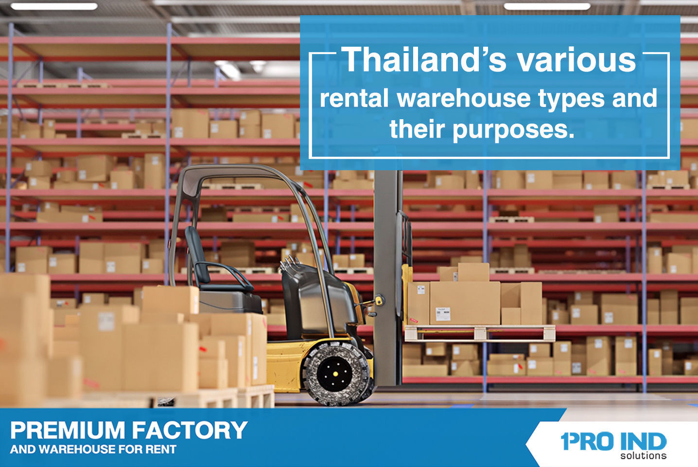 we would examine the various types of rental warehouses offered in the Thai property market and how they can fit your business operations.