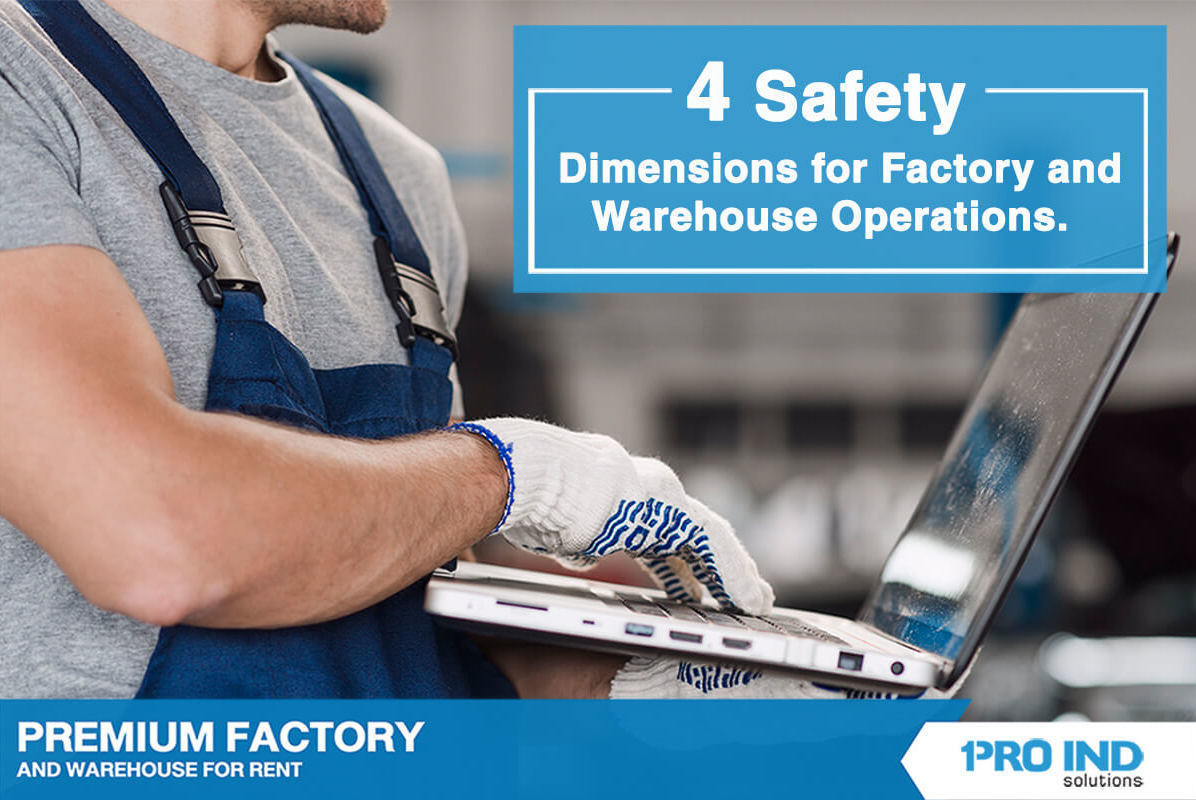 There are many aspects related to safety regulations and practices in factories and warehouses. This article would illustrate the four essential safety aspects of your plant operations.