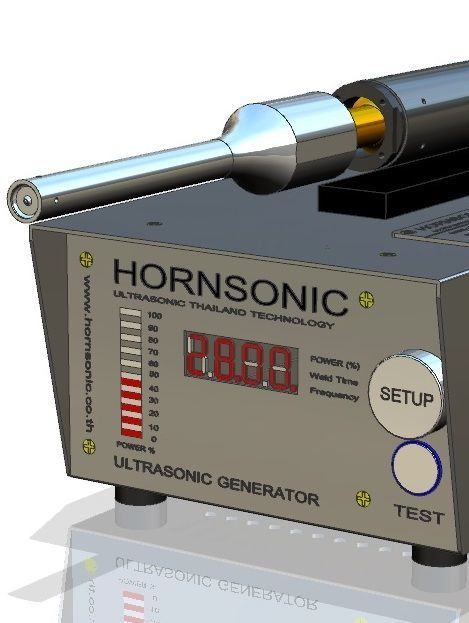 28kHz 1200W 2000E Digital Made By: Hornsonic HORNSONIC Ultrasonic Thailand Technology www.hornsonic.co.th