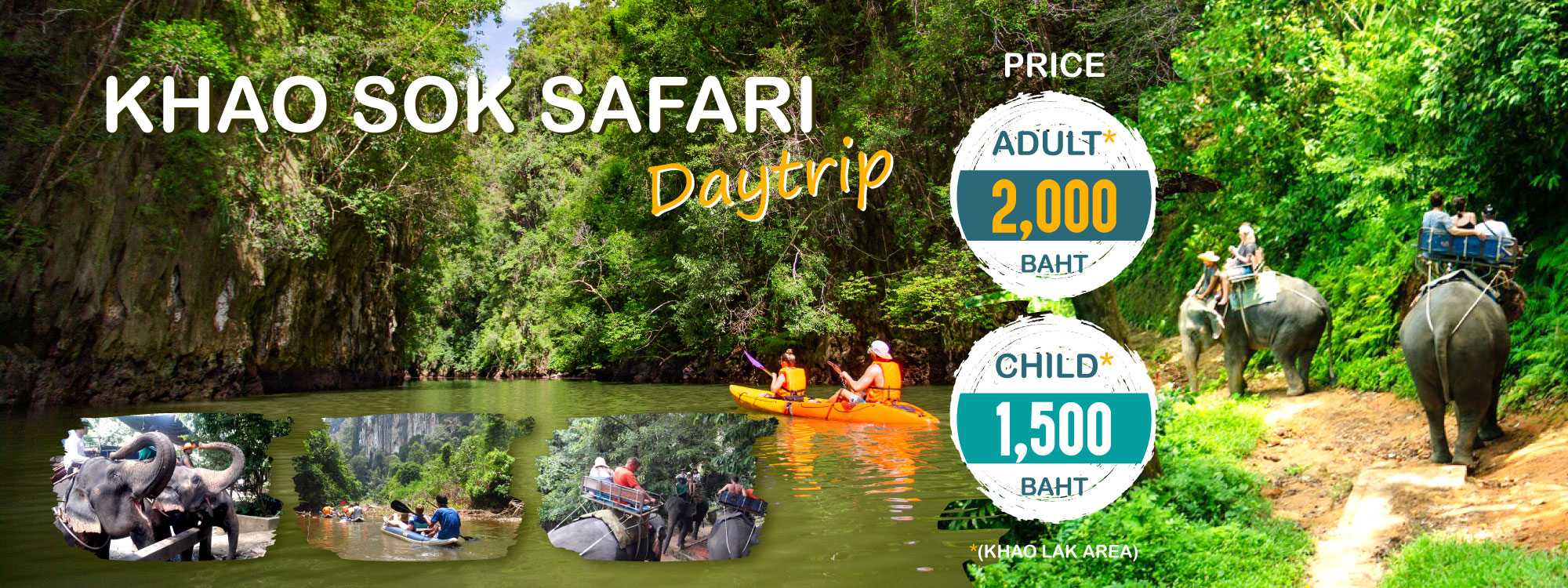 Khao Sok Safari Nature Tour Packages