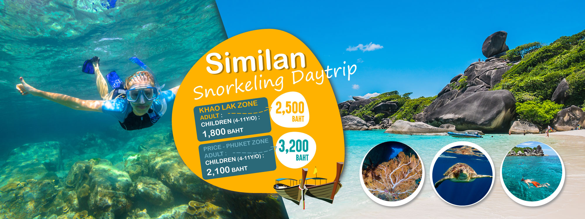 Similan Snorkeling Tour Packages