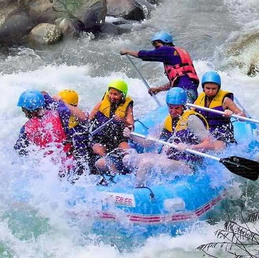 Phang Nga Whitewater Rafting Tour Adventure Packages @ Thailand