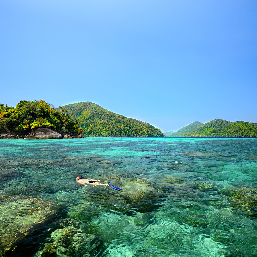 Surin Islands Snorkelling Tour Packages @ Phang Nga, Thailand