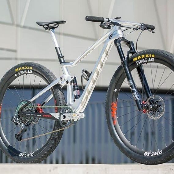 SCOTT 20 FRAME +KIT SPARK RC 900 WC N1NO HMX silver/black