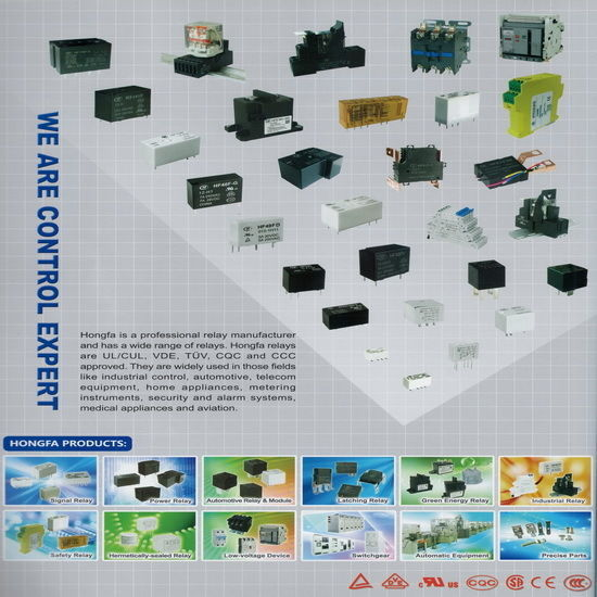 Signal Relay , Power Relay , Automotive Relay and Accessory