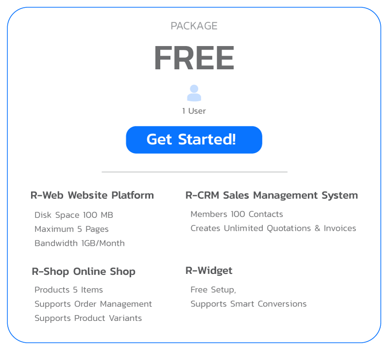 ReadyPlanet Marketing Platform Package Free
