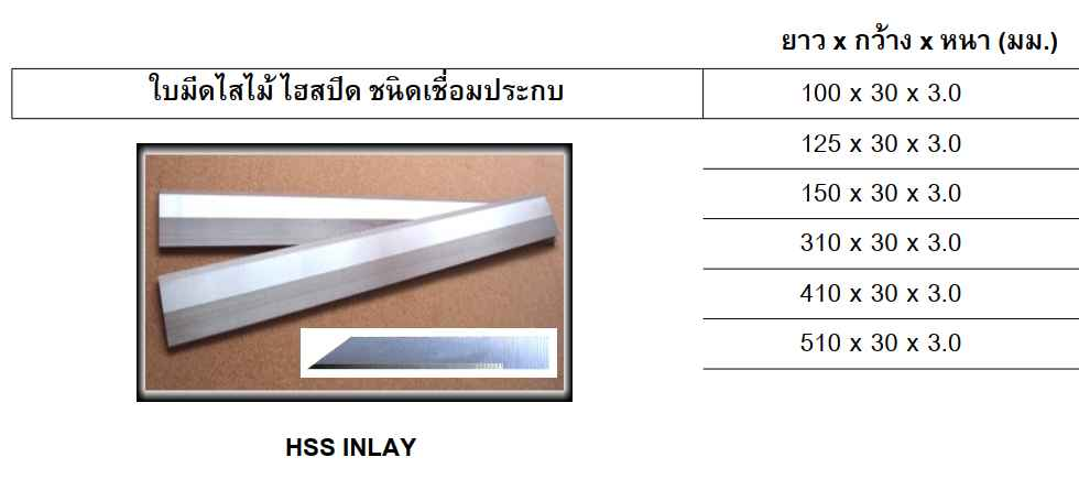 ใบมีดไสไม้, Planer knife, ใบไสไม้, Carbide planer knife, high speed planer knife