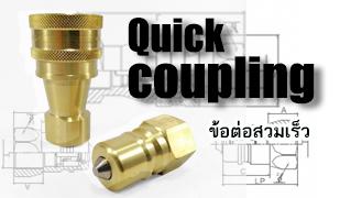 Quick coupling-ข้อต่อสวมเร็ว