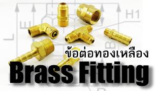 Brass Fitting-ข้อต่อทองเหลือง