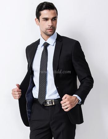 เสื้อสูทผู้ชาย สีดำ  suitdd-black code #01