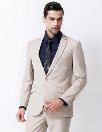เสื้อสูทผู้ชาย สีครีม suitdd-cream code#3