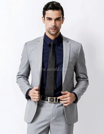 เสื้อสูท สีเทาอ่อน suitdd grey code#25