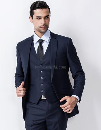 เสื้อสูทผู้ชาย สีกรมท่า suitdd-navy blue code#74