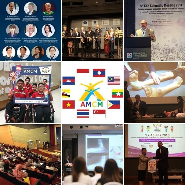 An opportunity for representatives in ASEAN community to share their challenges, and exchange knowledge among the multi-disciplinary teams to treat children with mobility impairment.